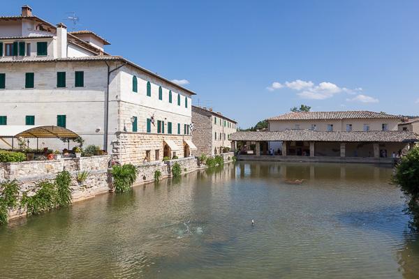 Toskana - Bagno Vignoni