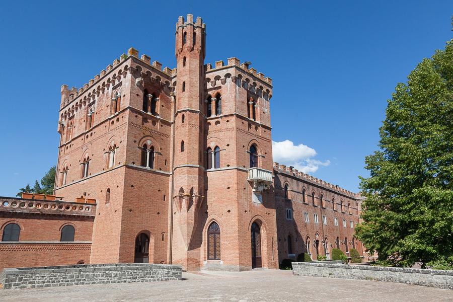 Die Toskana - Schlösser und Burgen