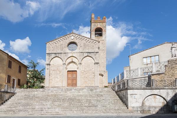 Toskana - Kirchen in Asciano