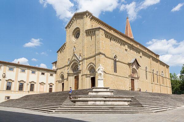 Toskana - Kirchen in Arezzo