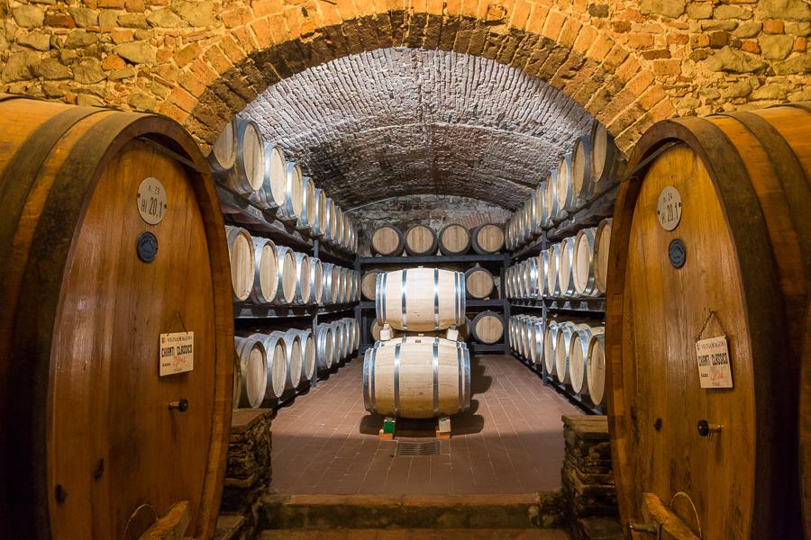 Die Toskana - Weingüter