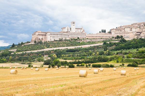 Umbrien - Assisi - Basilika San Francesco