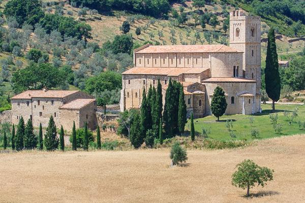 Toskana - Sant' Antimo