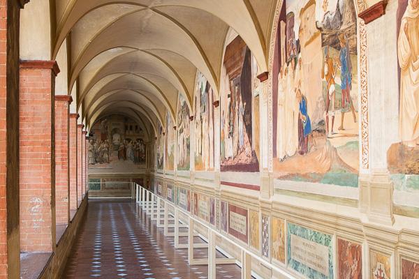 Toskana - Monte Oliveto Maggiore