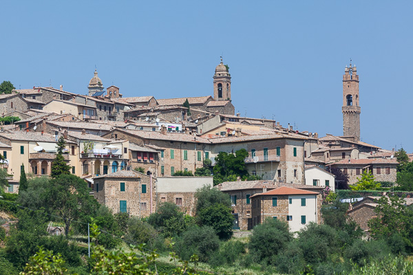 Toskana - Montalcino