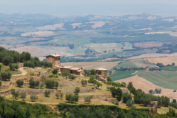 Toskana - Landschaften - Val d'Orcia