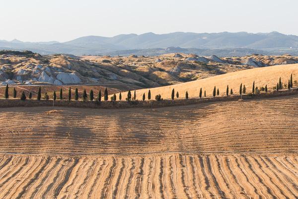 Toskana - Landschaften - Crete Senesi