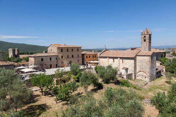Toskana - Monteriggioni