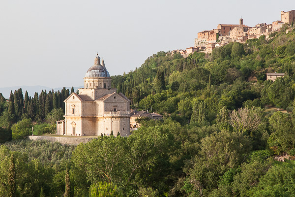 Toskana - Montepulciano - Madonna di San Biagio