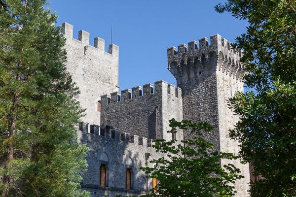 Toskana - Castello di Brolio