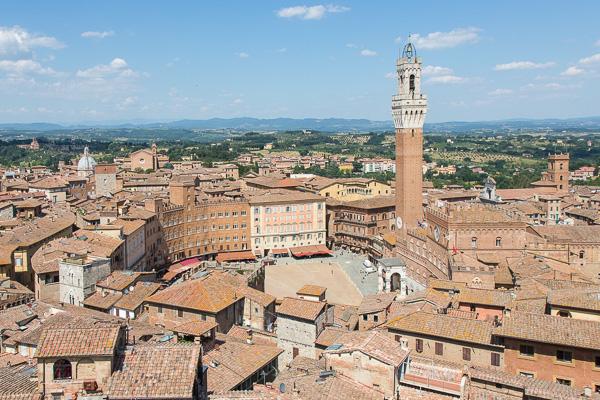 Toskana - Siena die Stadt
