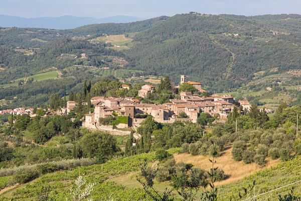 Toskana - Montefioralle