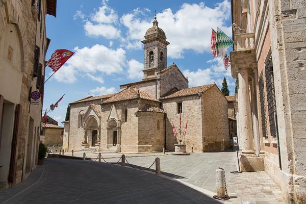 Toskana - San Quirico d'Orcia