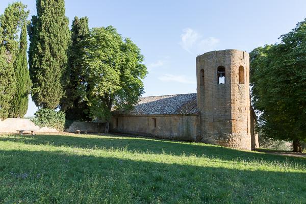Toskana - Pienza - Pieve di Corsignano