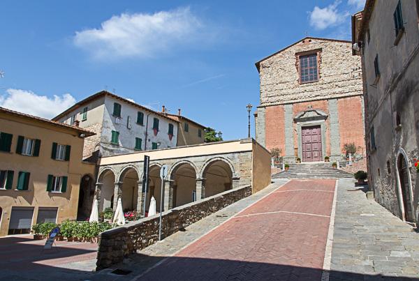 Toskana - Lucignano