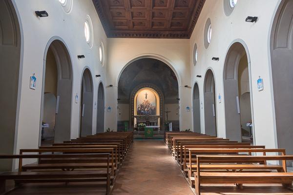 Toskana - Panzano - Chiesa di Santa Maria