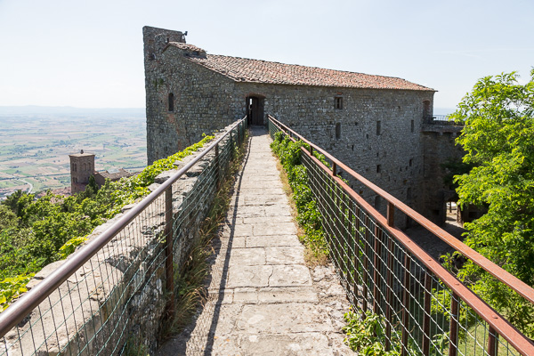 Toskana - Cortona - Fortezza del Girifalco