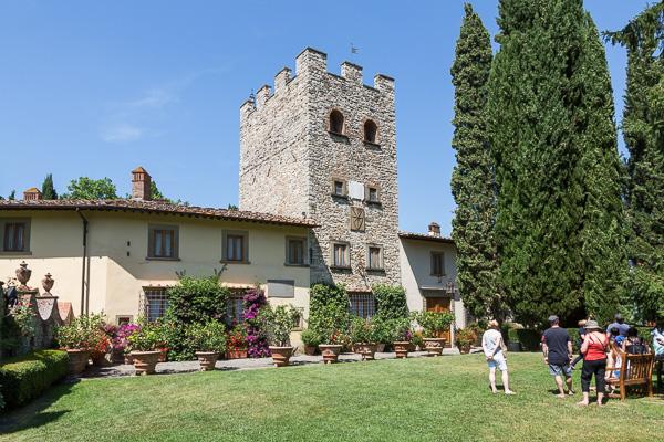 Toskana - Castello di Verrazzano