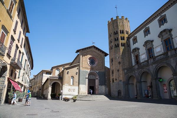 Toskana - Orvieto - Die Chiesa Sant' Andrea