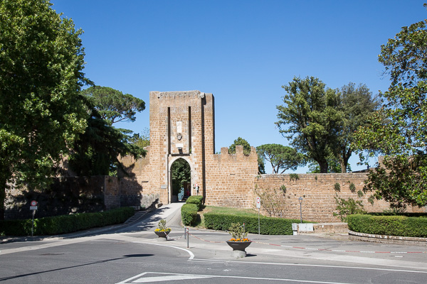 Toskana - Orvieto - Die Festung