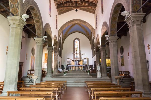 Toskana - Barberino Val d'Elsa - Chiesa di San Bartolomeo