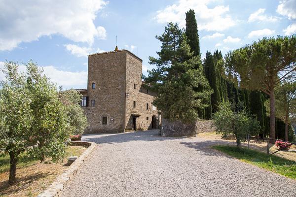 Toskana - Weingut - Castello di Albola