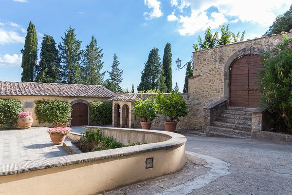 Toskana - Castello di Albola
