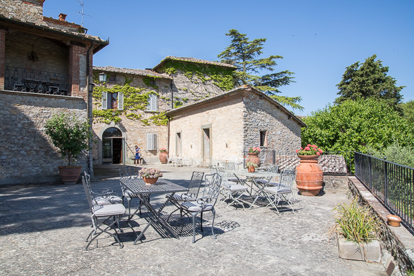 Toskana - Weingut - Castello di Ama