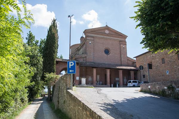 Toskana - Basilika dell'Osservanza