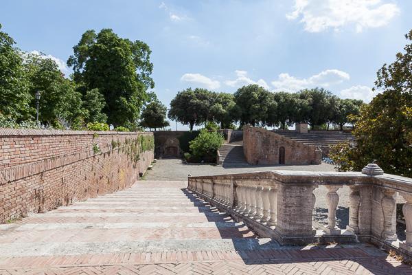 Toskana - Siena - Fortezza Medizea