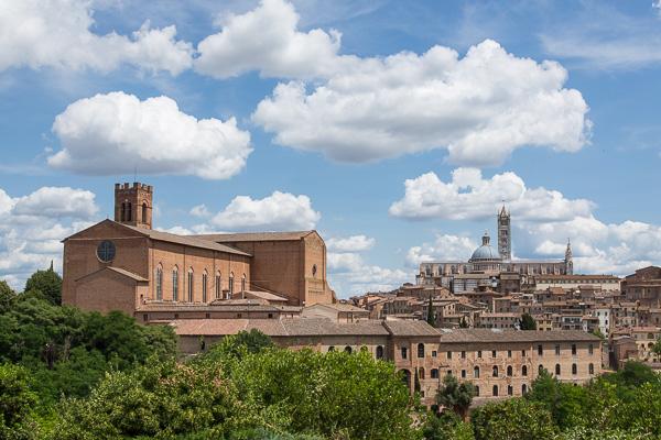 Toskana - Siena - Kirchen und Klöster