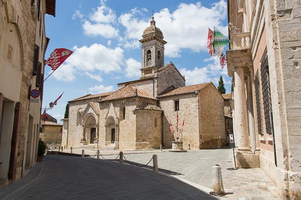 Toskana - San Quirico d'Orcia - Collegiata Sant Quirico e Giulitta