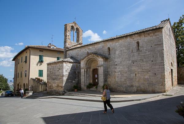 Toskana - San Quirico d'Orcia - Santa Maria Assunta