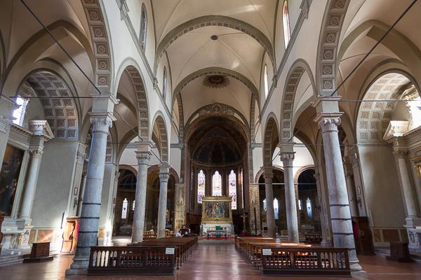 Toskana - Siena - Santa Maria dei Servi