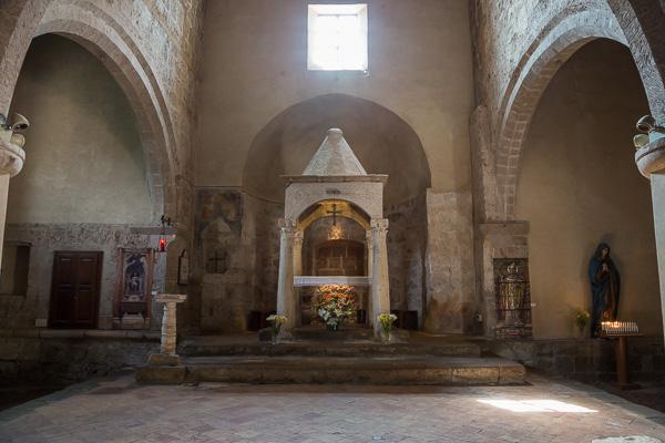 Toskana - Sovana - Die Kirche Santa Maria