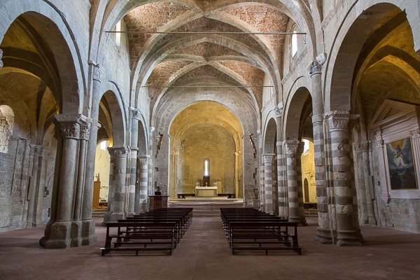 Toskana - Sovana - Der Dom St. Peter und Paul