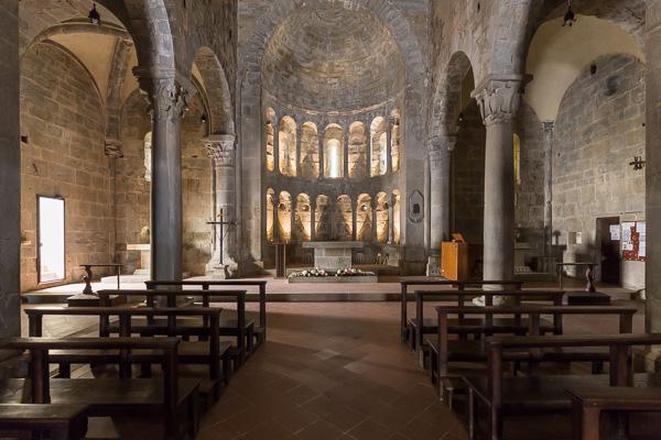 Toskana - Pieve di San Pietro a Gropina