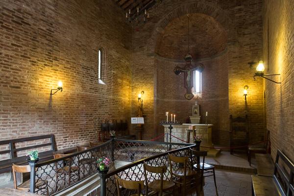 Toskana - Siena - Cappella del Ricreatorio Pio II