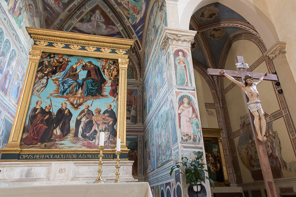 Toskana - San Gimignano - Sant' Agostino