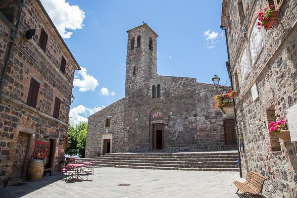 Toskana - Radicofani - Pieve San Pietro
