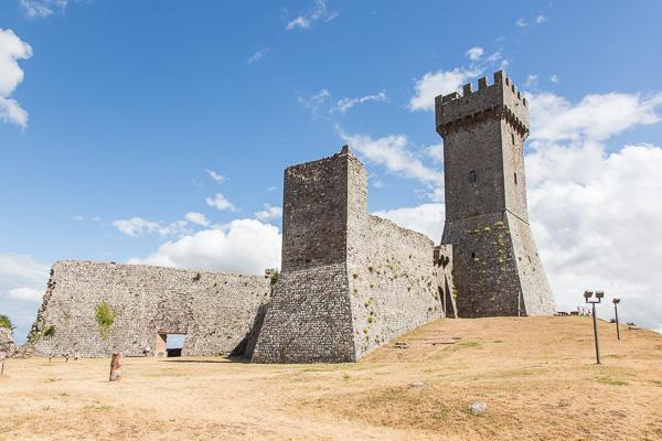 Toskana - Radicofani - Rocca di Radicofani