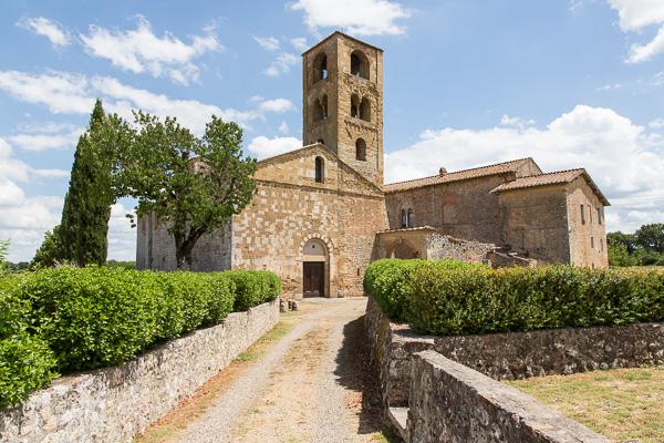 Toskana - Sovicille - Pieve di San Giovanni Battista