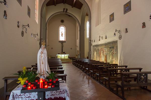 Toskana - Sovicille - Pieve di San Lorenzo