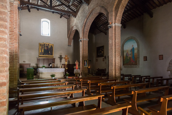 Toskana - Sovicille - San Giovanni Battista Parish