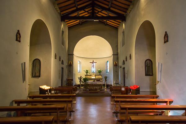 Toskana - San Gusmè - Pieve dei Santi Cosma e Damiano