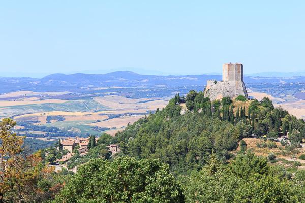 Toskana - Rocca d'Orcia