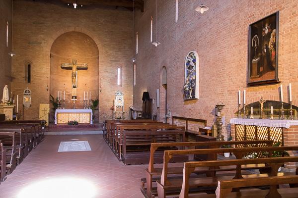 Toskana - Certaldo - Chiesa SS Jacopo e Filippo