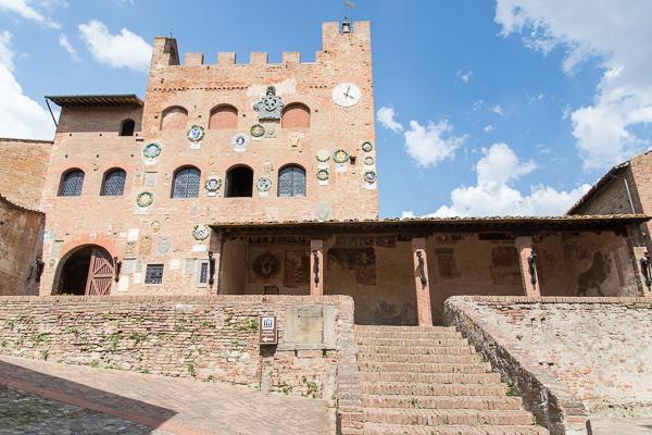 Toskana - Certaldo - Palazzo Pretorio