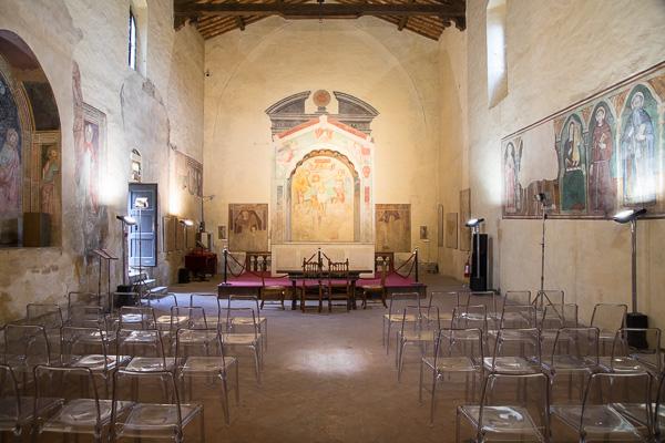 Toskana - Certaldo - Chiesa dei Santi Tommaso e Prospero