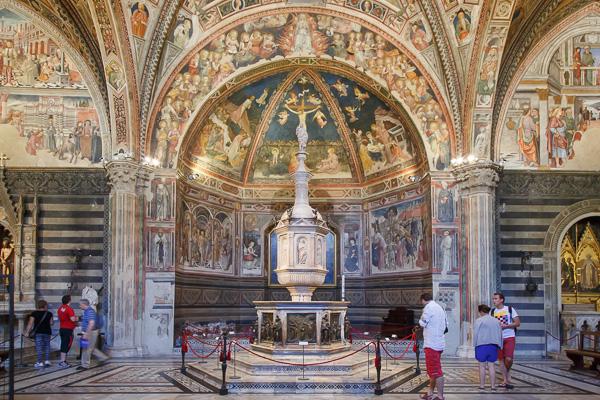 Toskana - Siena - Dom - Baptisterium